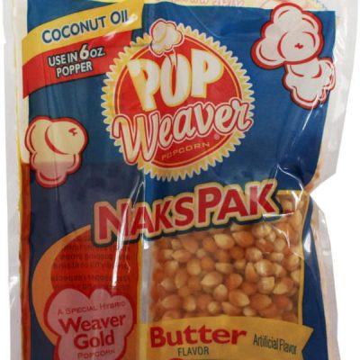 Popcorn - portionspakning