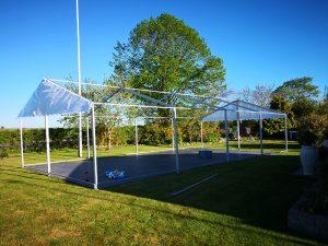 opsætning af telt